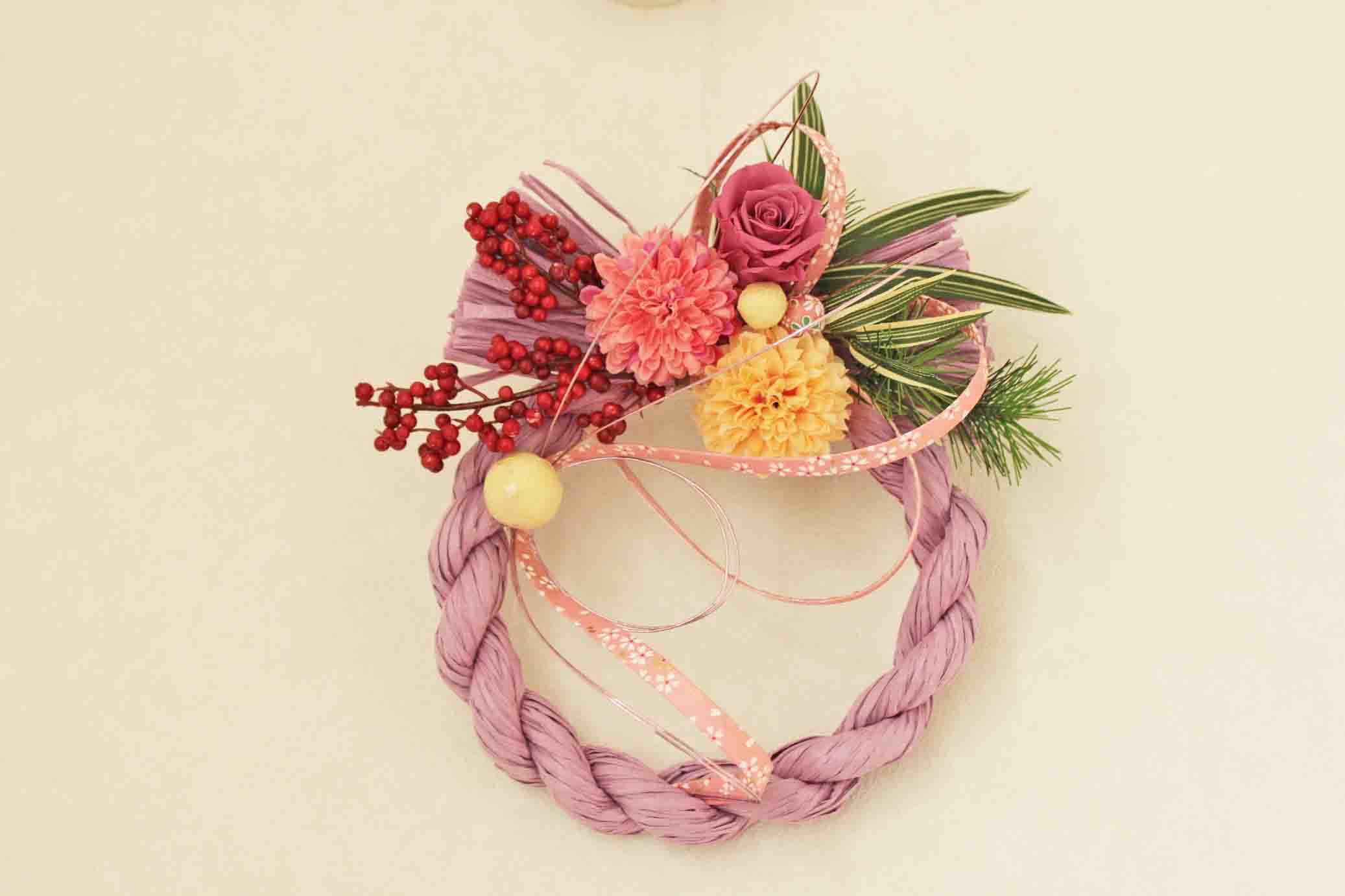 おしゃれでかわいいしめ縄を飾りたい!通販で買えるおすすめはコレ