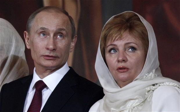 プーチン大統領はなぜ嫁と離婚?理由は?美人娘の画像もチェック!